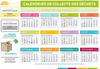 EVOLIS 23 – Calendriers 2021