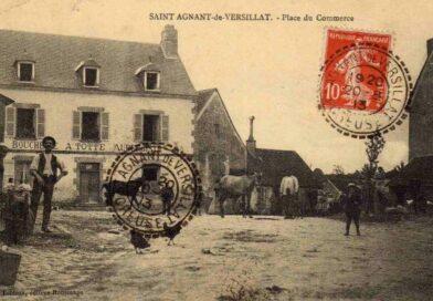 Photos anciennes de St Agnant de Versillat