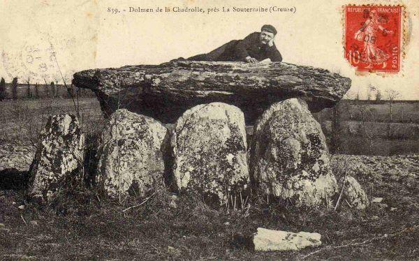 le dolmen de la Chadrolle
