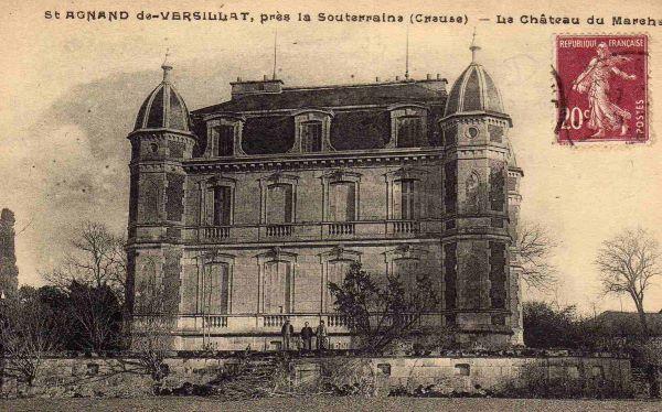 Le château du Marchat